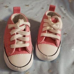 Pink Converse Chuck Taylor High Tops Infant